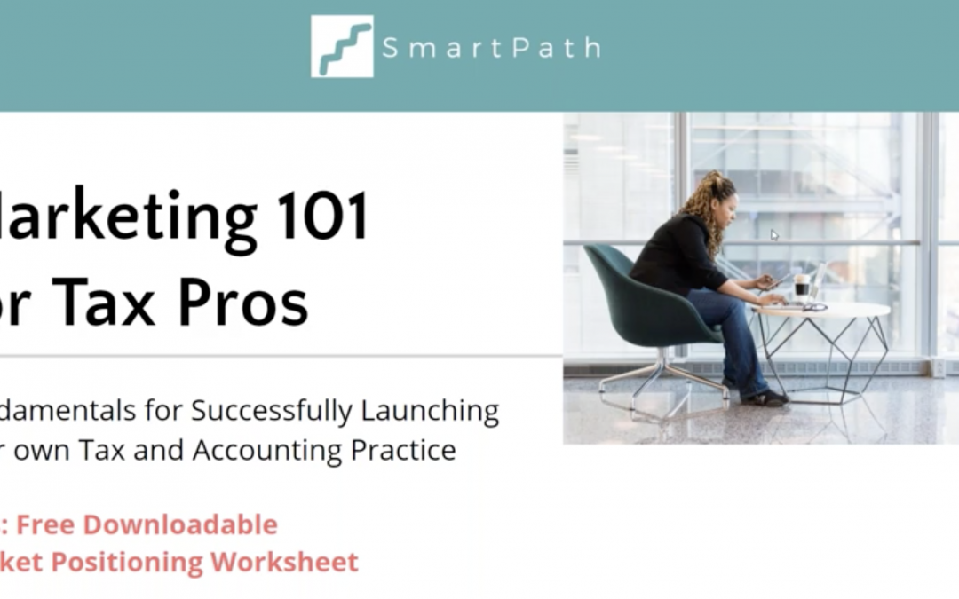 Marketing 101 for Tax Pros